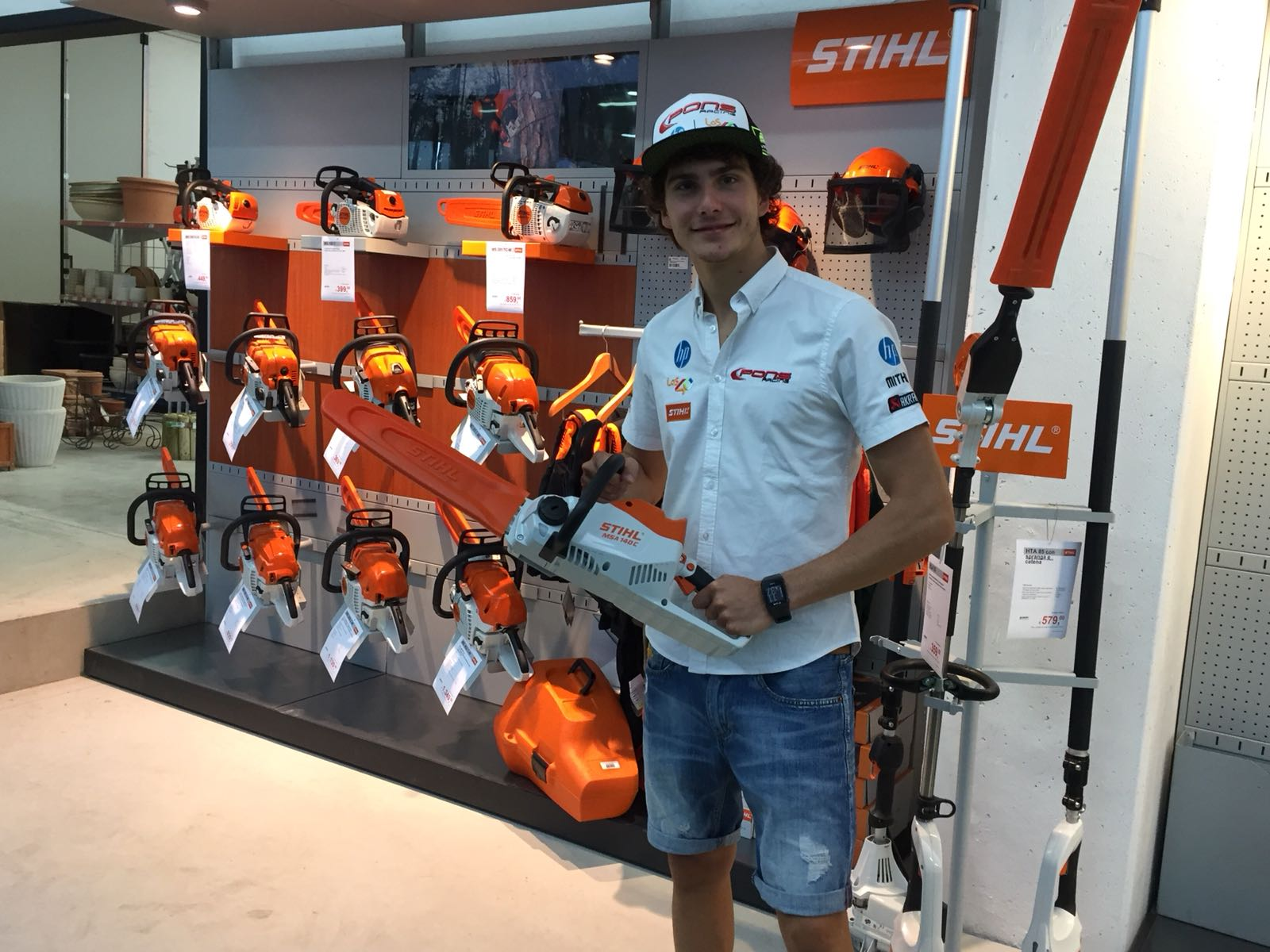 Baldassarri da Garpo con Stihl
