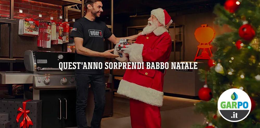 BBQ a Natale: Weber ti fa un regalo da Garpo