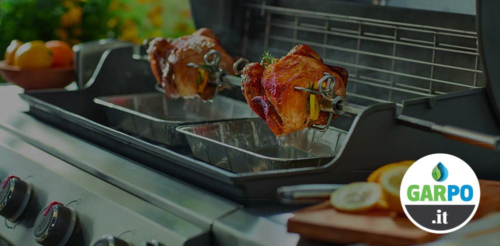 BBQ Primavera: Weber ti regala il girarrosto da Garpo
