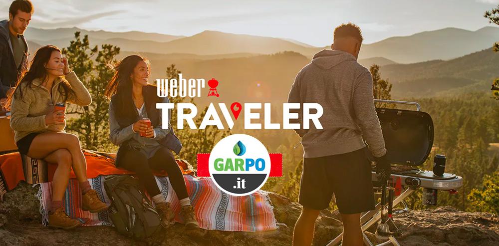 BBQ TRAVELER Portatile Weber da Garpo